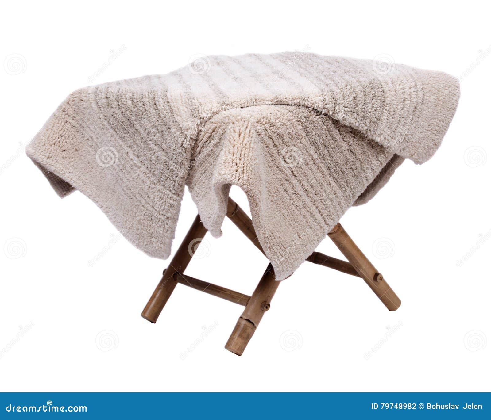 Manta de la pila del corte del lino del algodón