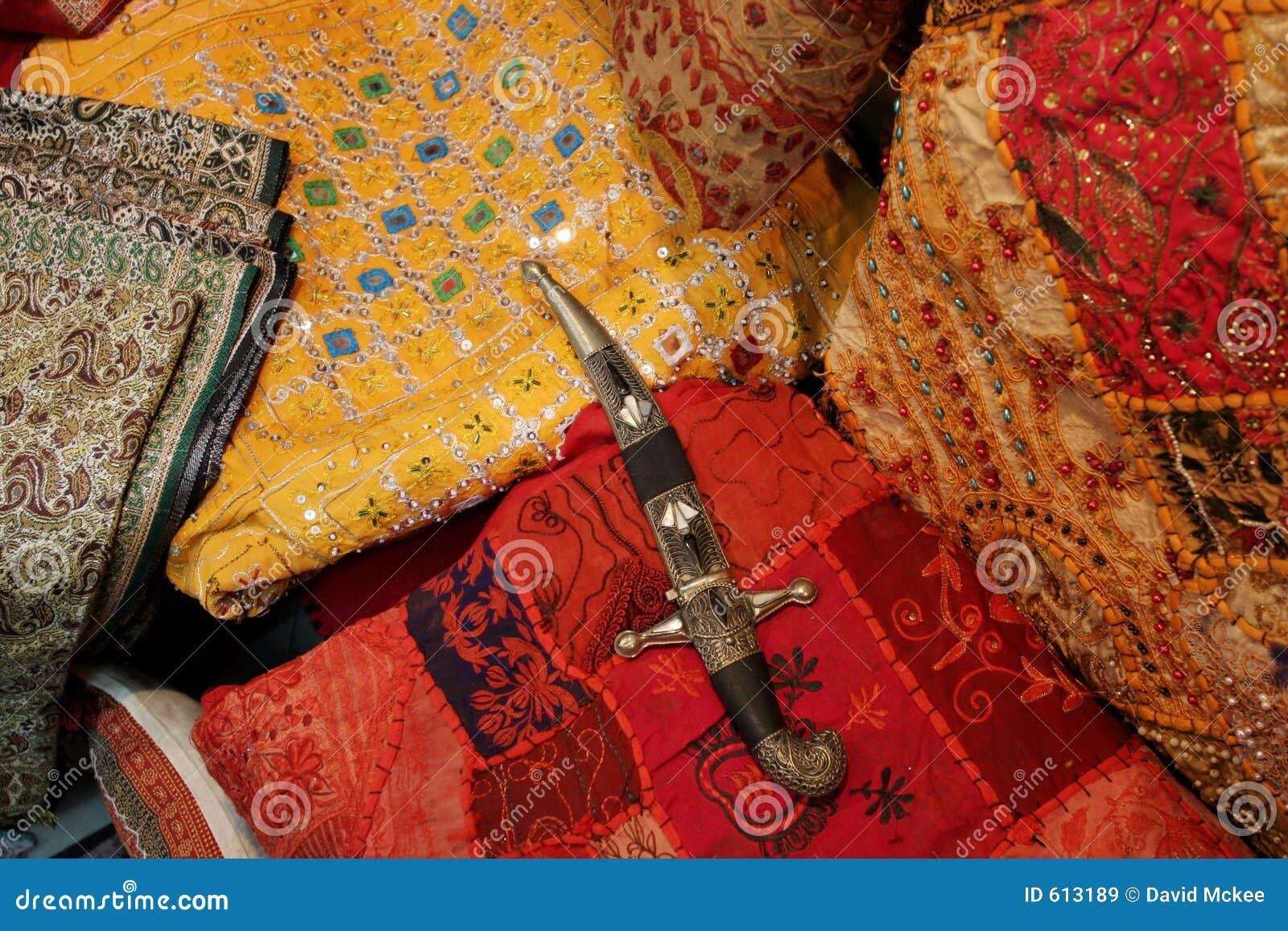 Manta y cuchillo beduinos im genes de archivo libres de - Manta para cuchillos ...