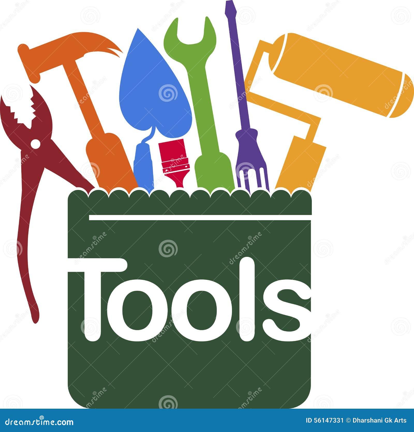 Mantenga el logotipo de las herramientas