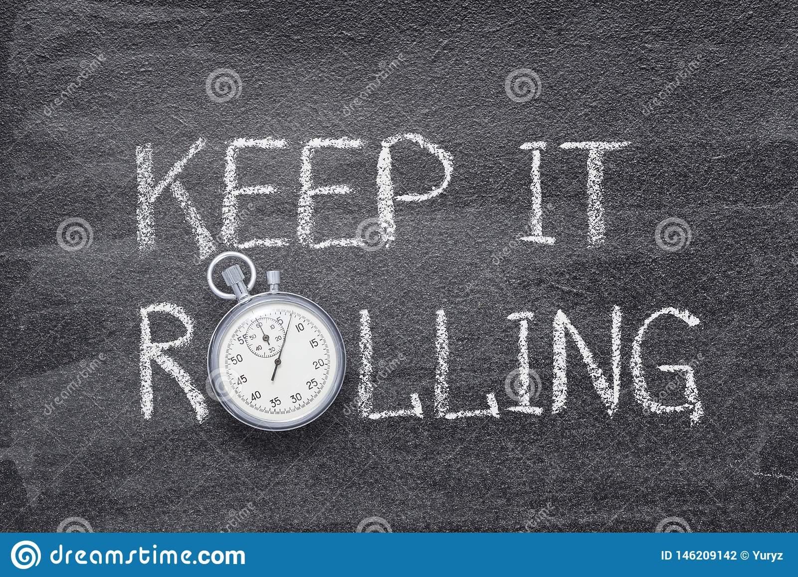 Mantenha-o relógio de rolamento