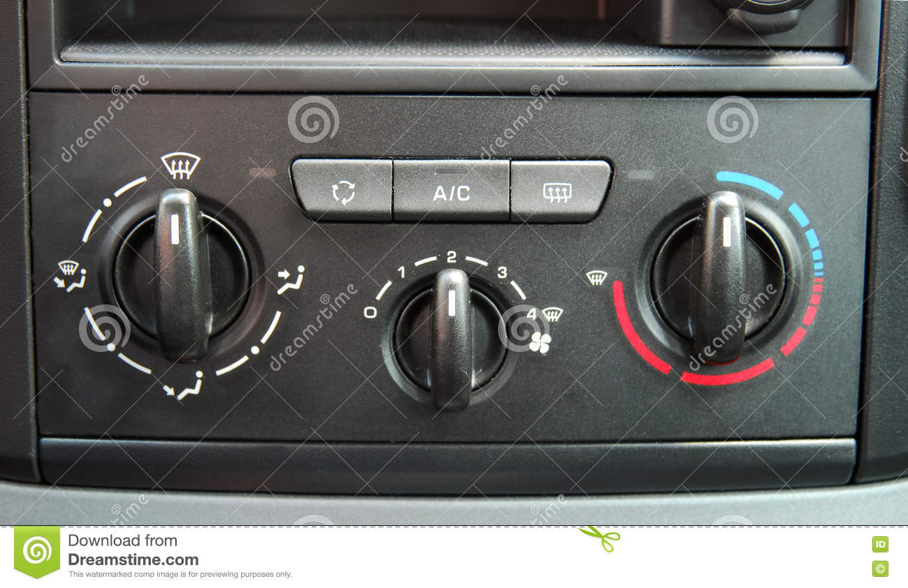 Manual Car Air Conditioner Stock Photo Image Of Wind Manual Guide