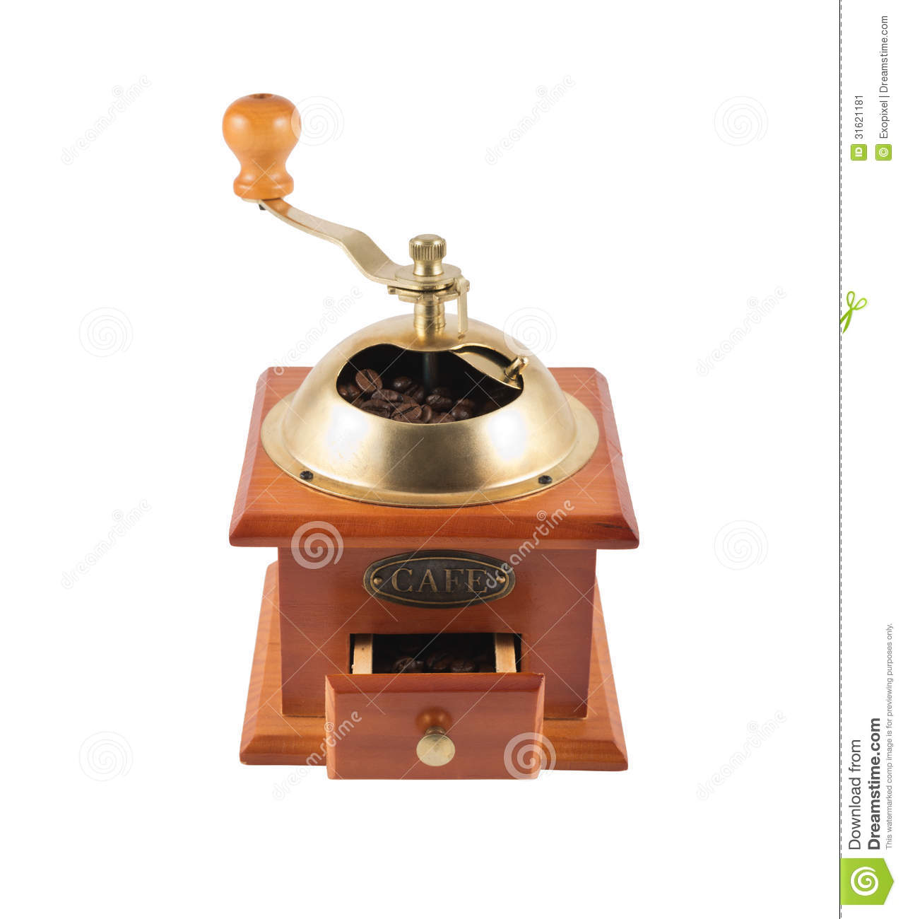 Doral Designs Coffee Maker With Grinder And Timer : Manual Coffee Bean Mill Grinder Isolated Stock Image - Image of black, coffee: 31621181