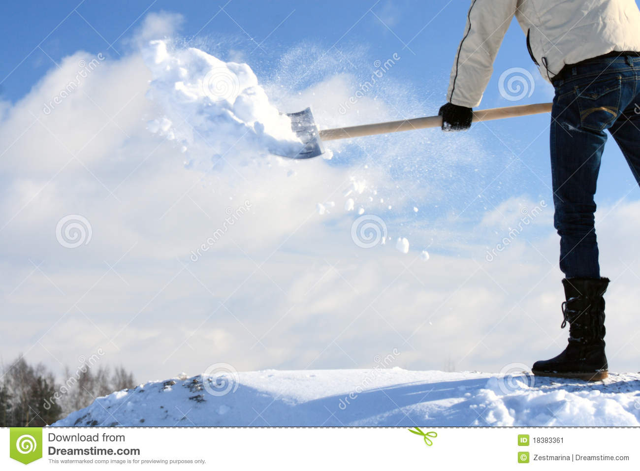 how to fix a cracked snow shovel