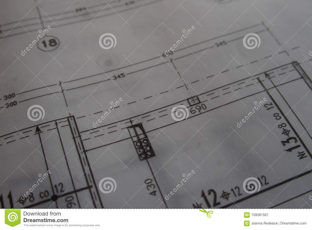 manual technical drawing made with a pencil on tracing paper stock rh dreamstime com Engineering Drawing Technical Drawing Tools