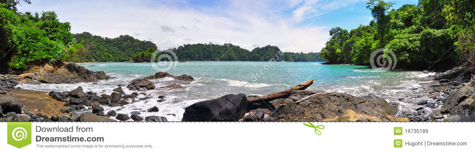 Manuel Antonio Strand, Costa Rica