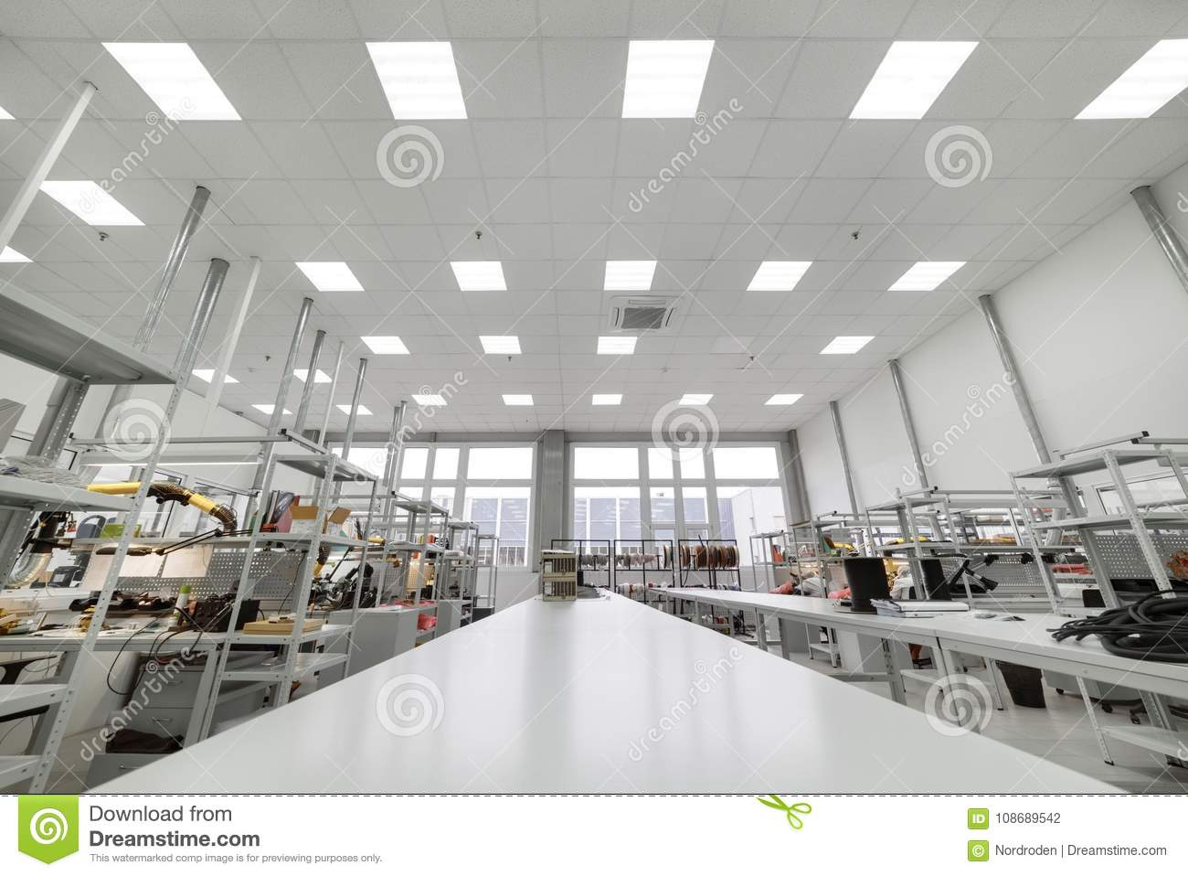 Manufacture Of Industrial Electronics  Shop Assembly Of