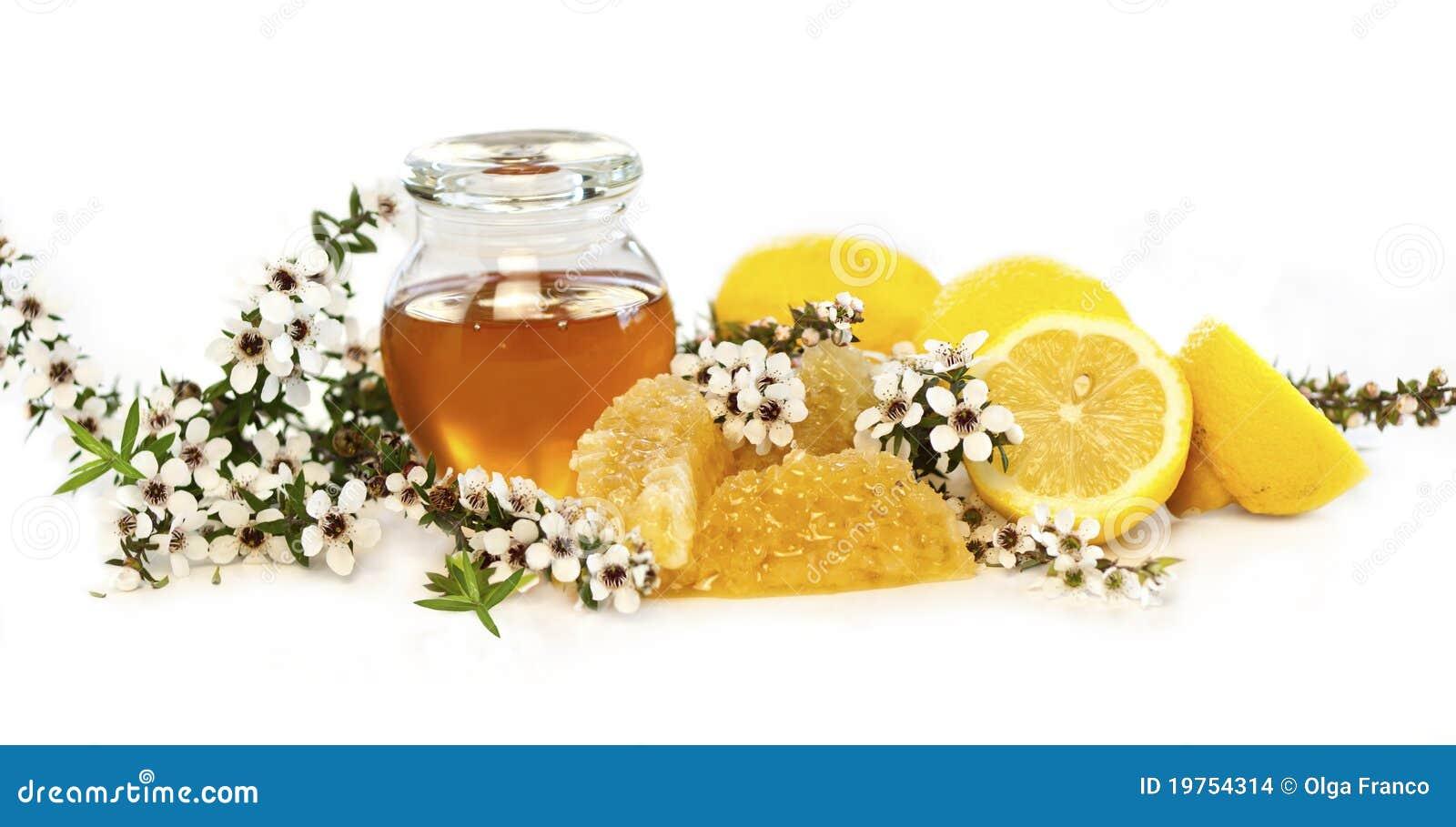Manuka honey & lemons