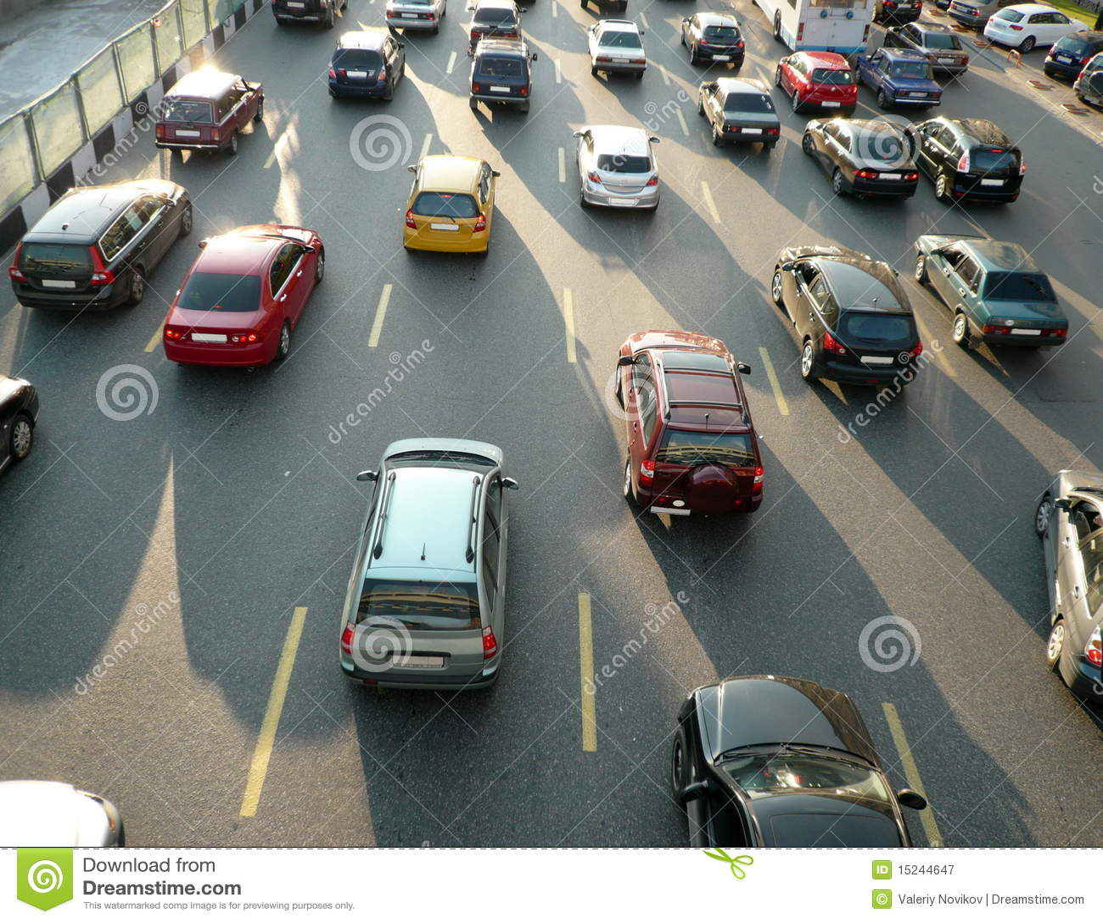 Many of car on street stock image. Image of photo, traffic - 15244647