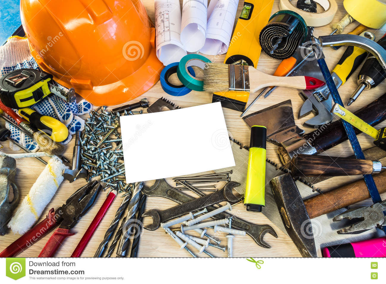 Many construction tools construction composition tool for Tools to build a house