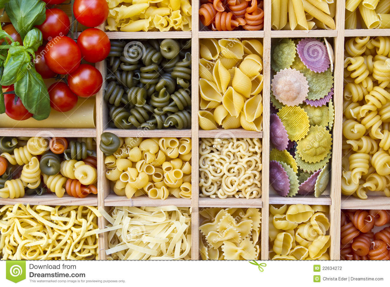 Many different noodles stock photo. Image of variety ...