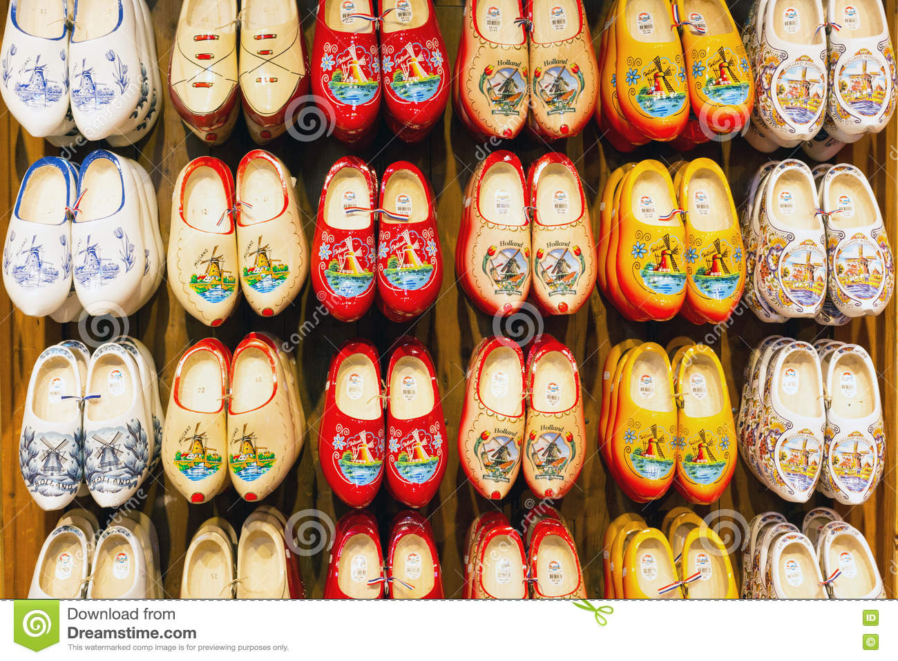 Holland Wooden Shoes For Sale