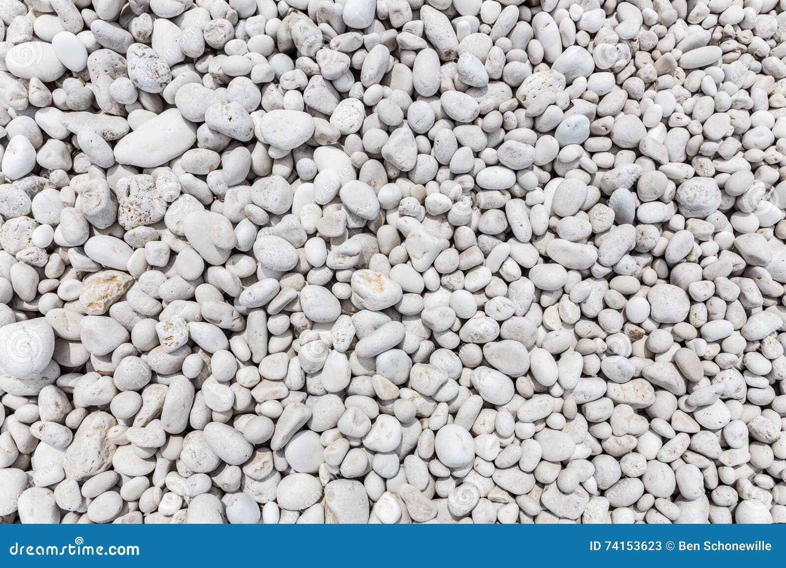 Many grey stones as background