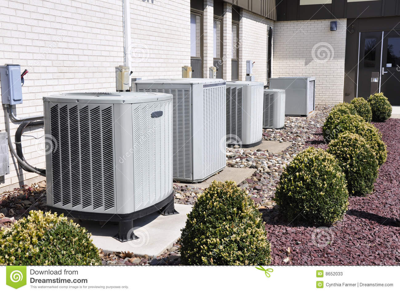 Many Industrial Air Conditioner Units Stock Photos Image: 8652033 #50592F