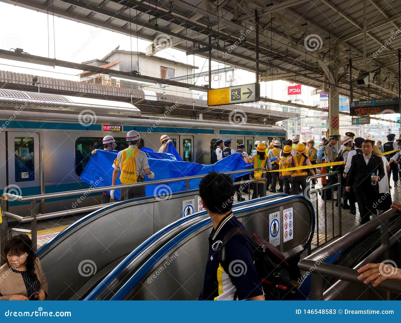 Suicide on Train