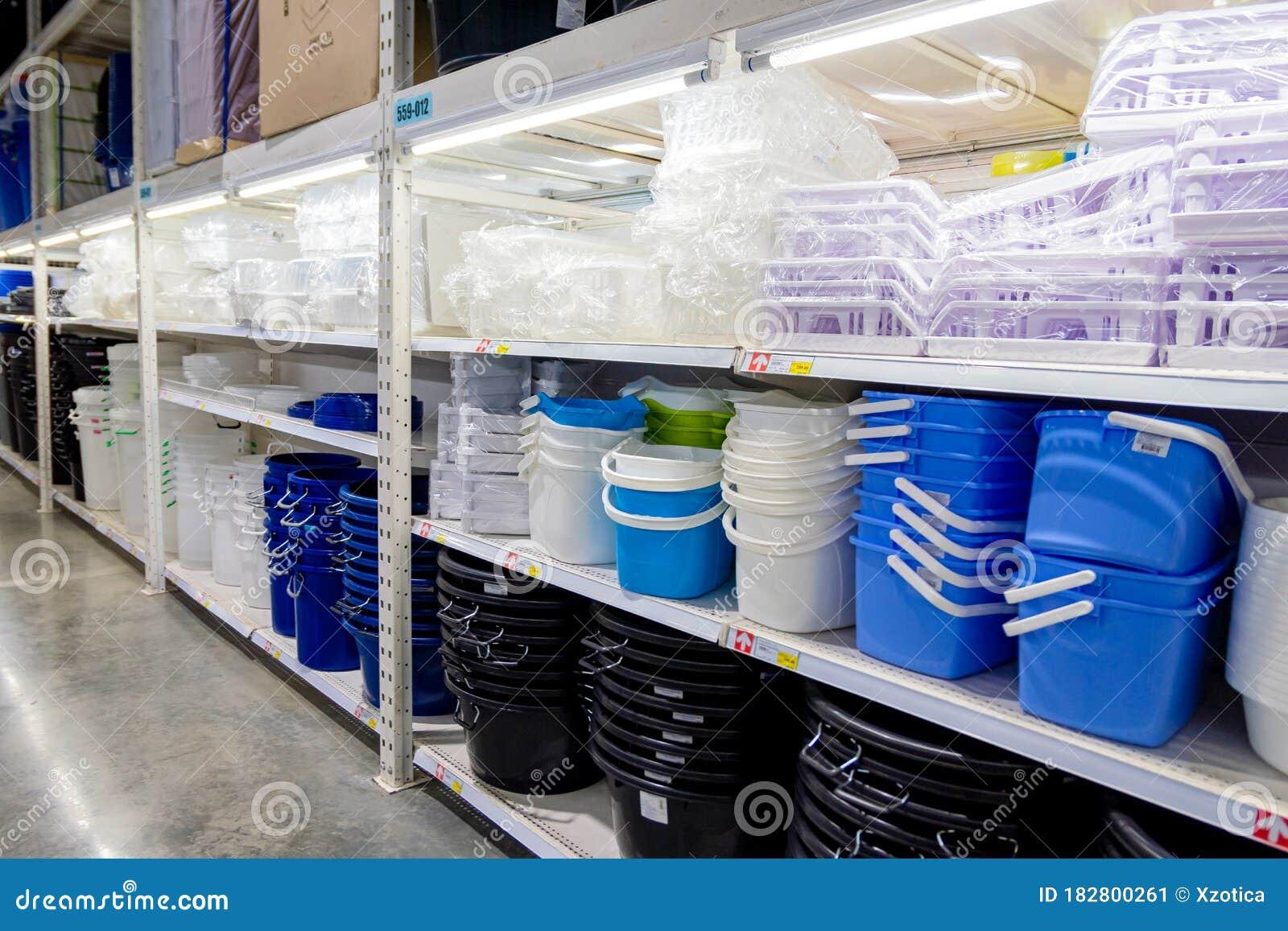 many kinds plastic bucket shelves makro supermarket many kinds plastic bucket shelves makro supermarket