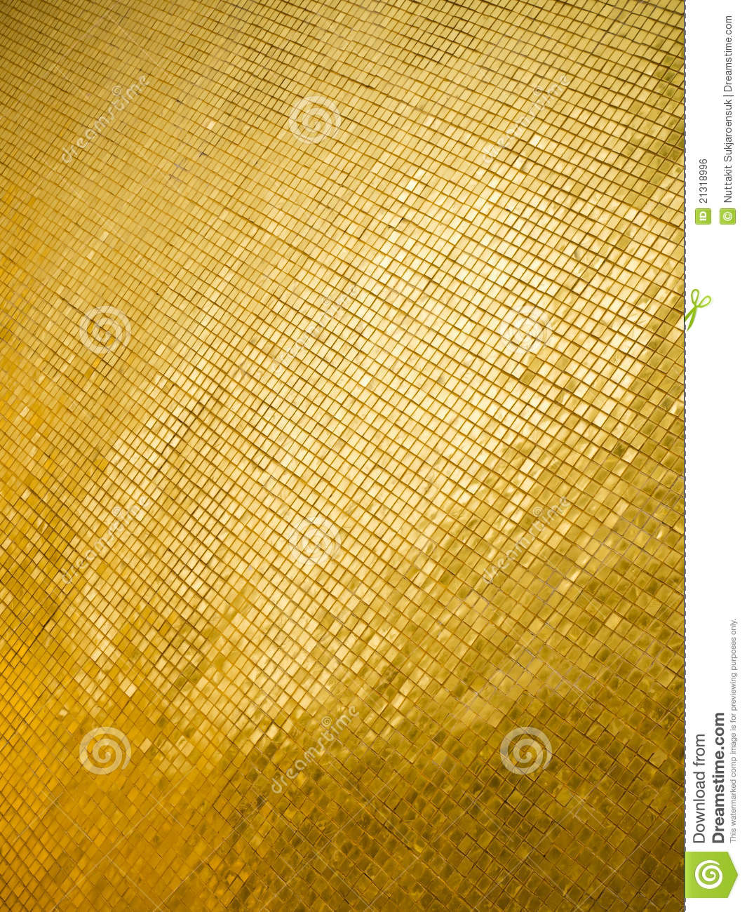 many little gold square royalty free stock image
