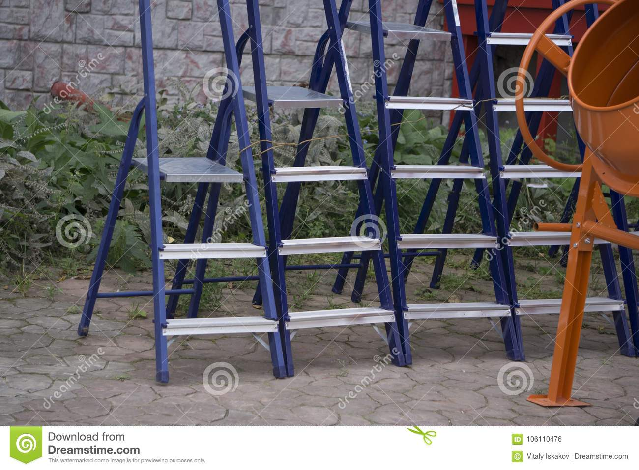 The Tool Store >> Many New Step Ladder Display On The Tool Store Shop Stock