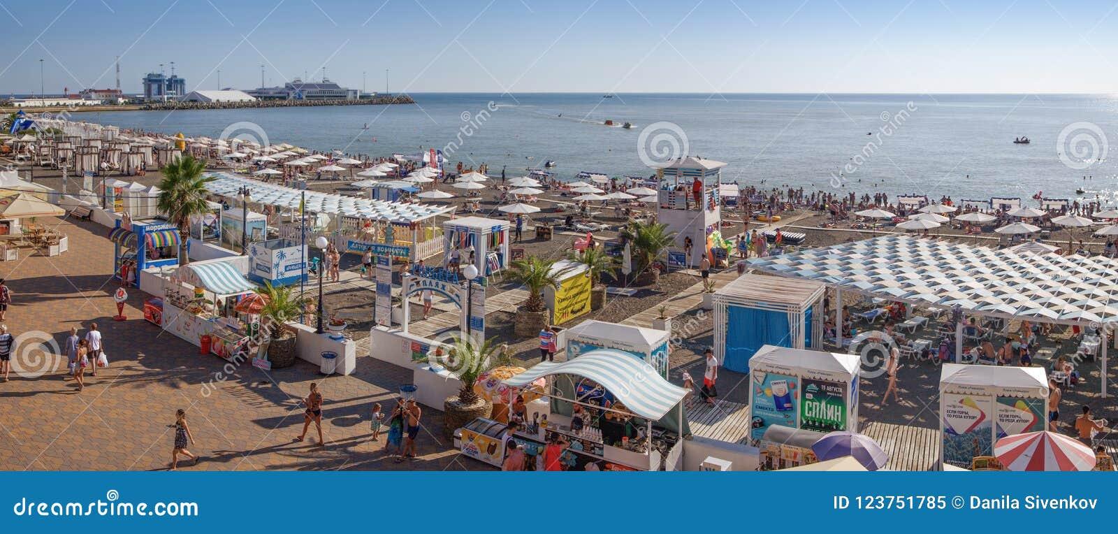 Beach Riviera in Sochi. Description, reviews of tourists 67