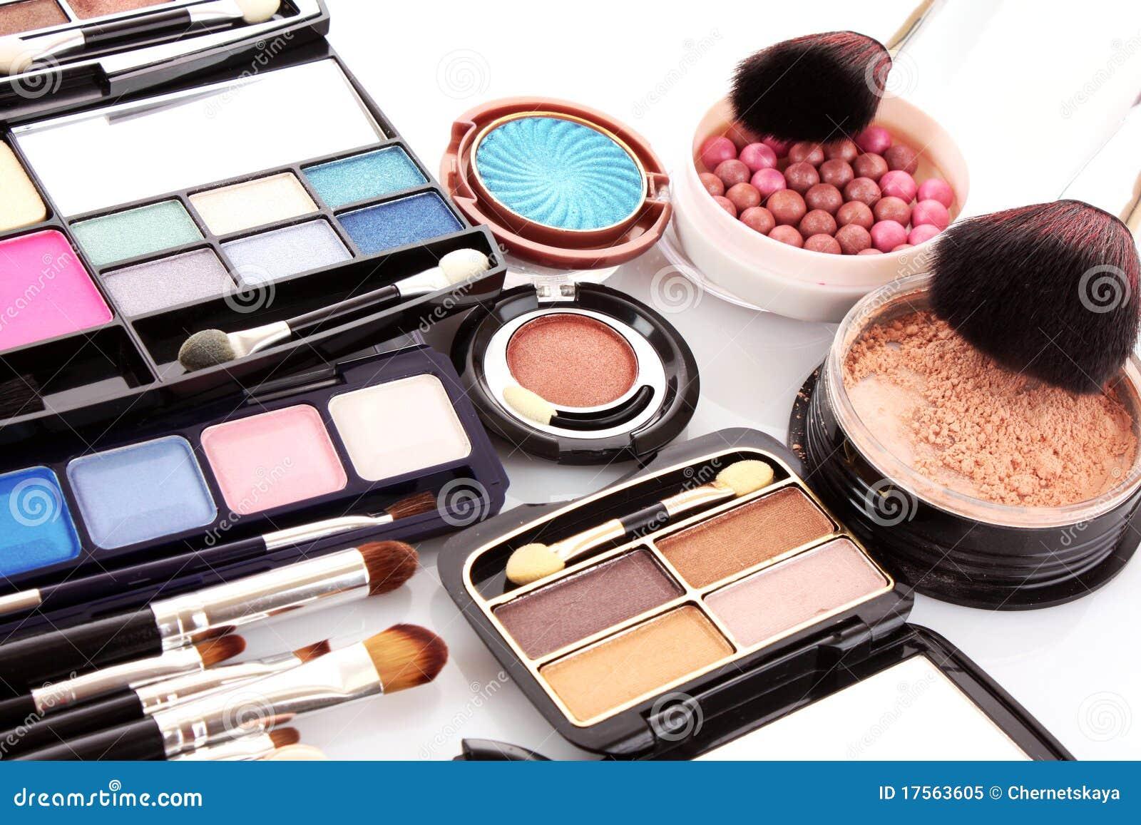 Many Professional Cosmetics Royalty Free Stock Photo Image 17563605