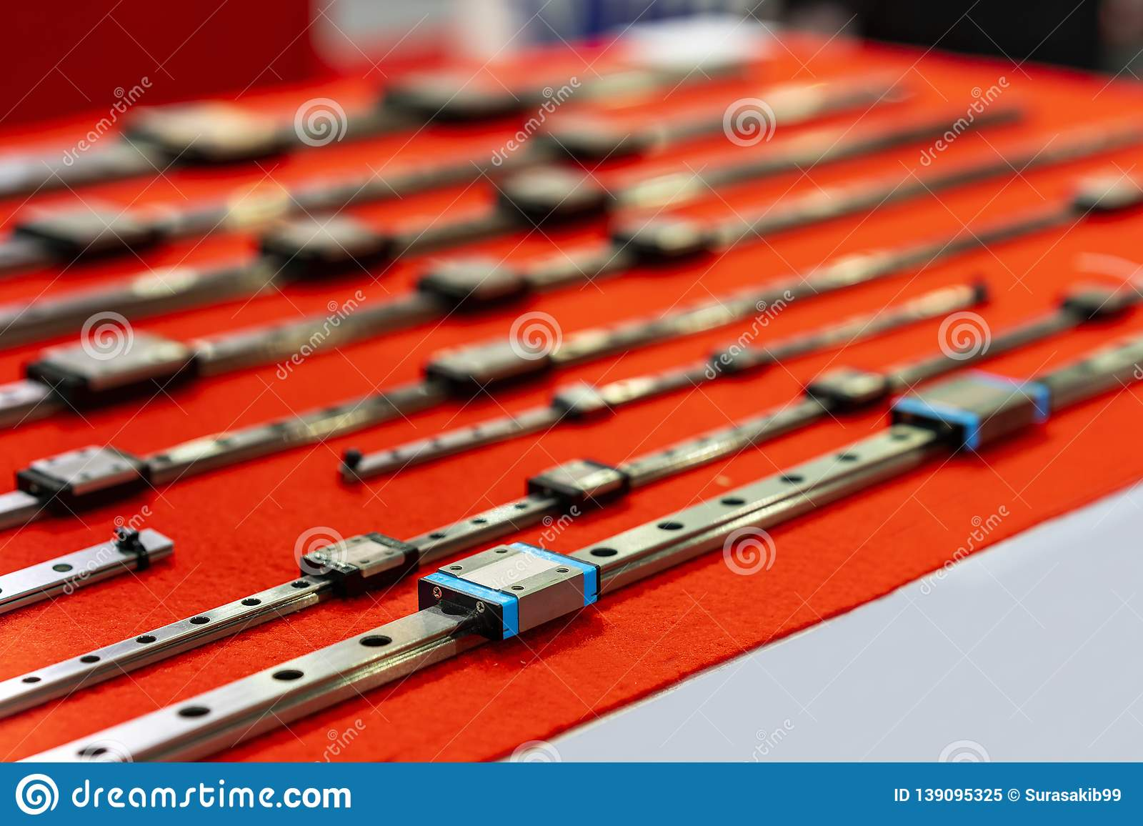 Array - many size of high quality and precision linear ball bearing      rh   dreamstime com