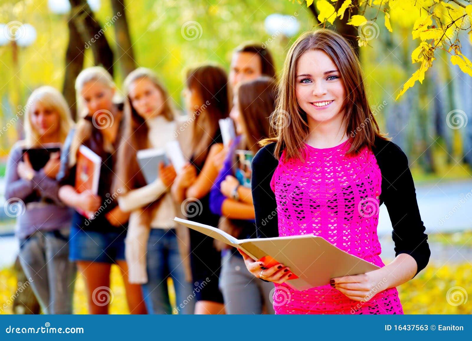 Картинки осень студенты