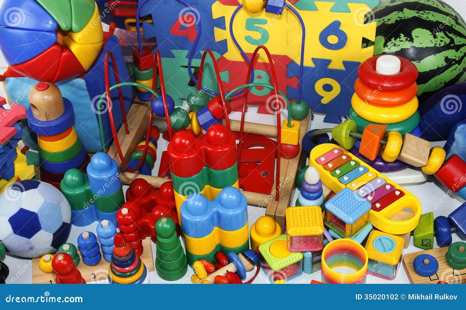 Many Toys Stock Photography Image 35020102