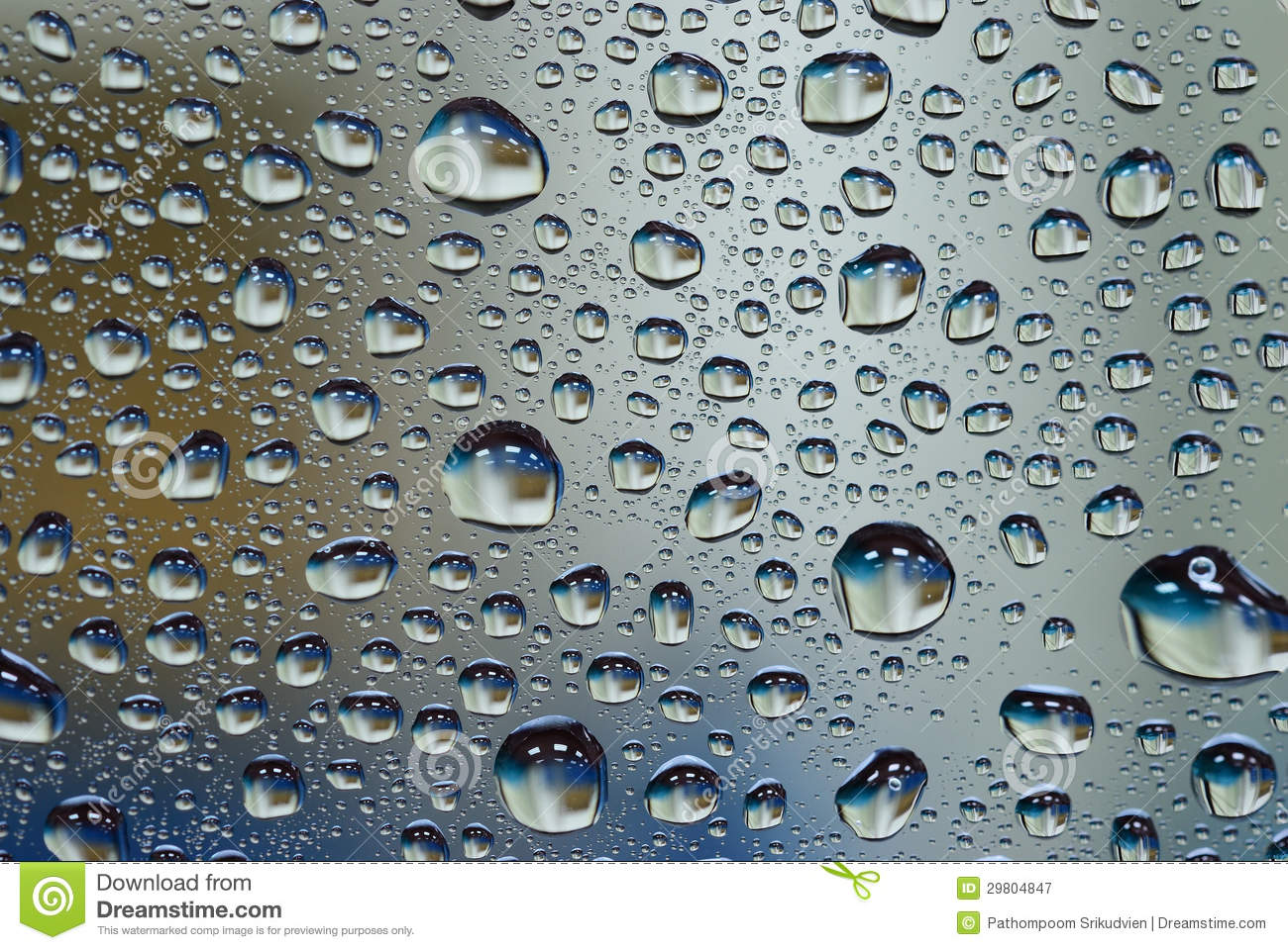 water drop on glass wall royalty free stock photography