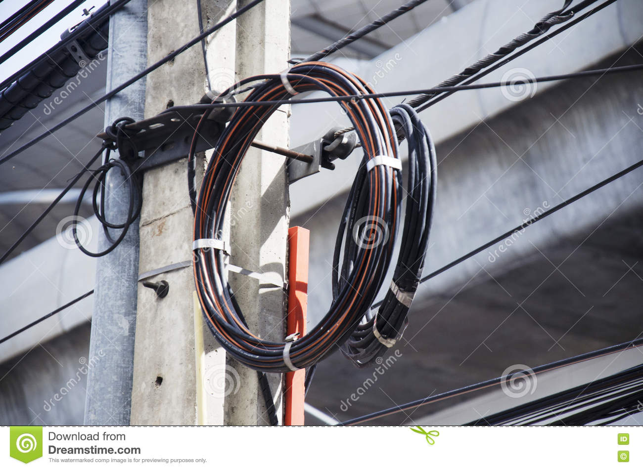 Old Phone Line Wiring Detailed Schematics Diagram Bt Socket Many Wires Messy With Power Cables On Electricity Pilla Dsl