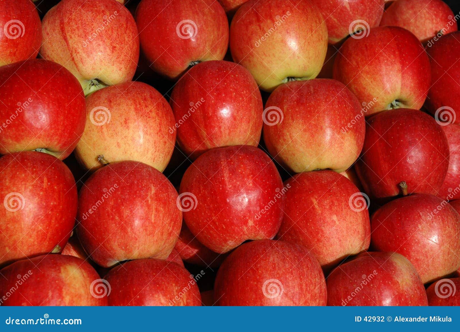Download Manzanas foto de archivo. Imagen de mercado, sano, manzana - 42932