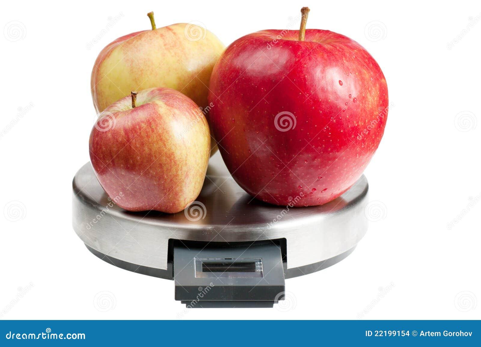 Manzanas en escalas