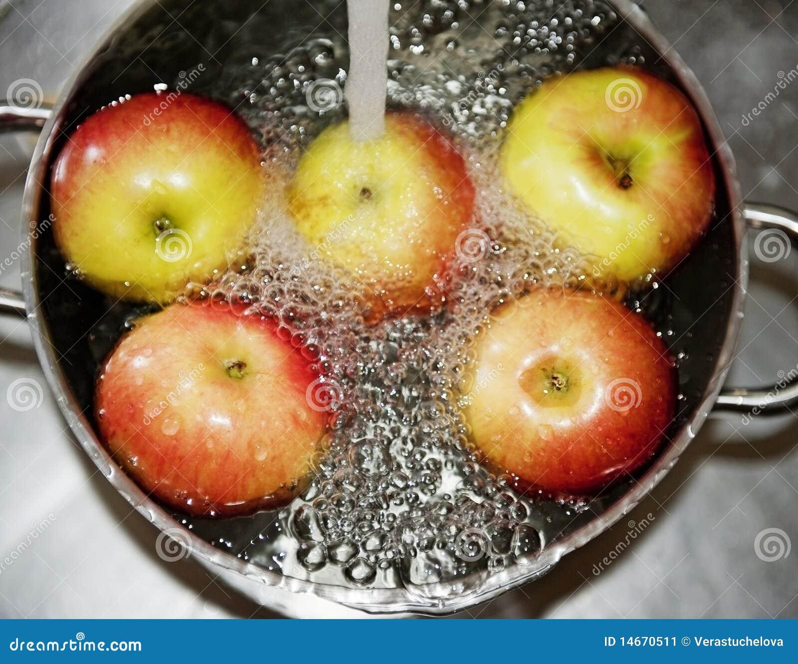 como cocinar manzanas