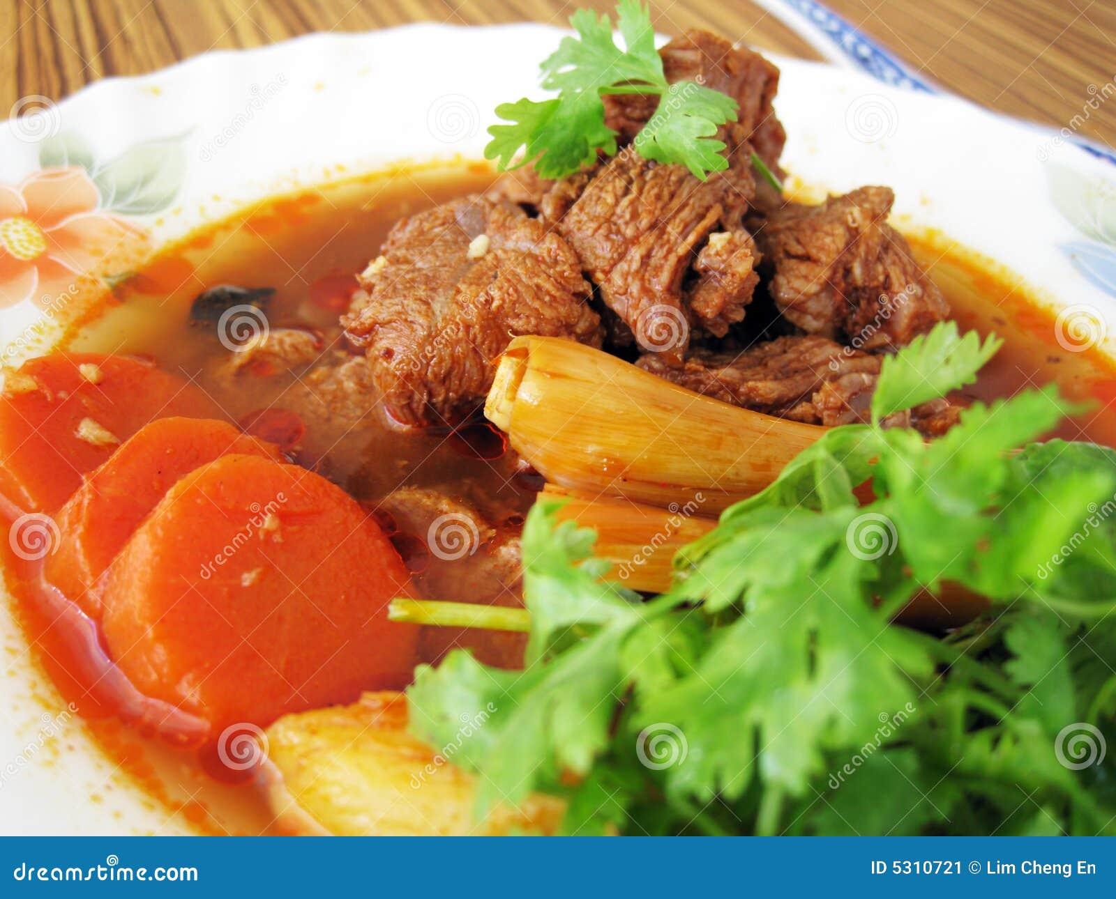 Download Manzo stufato immagine stock. Immagine di asiatico, fogli - 5310721