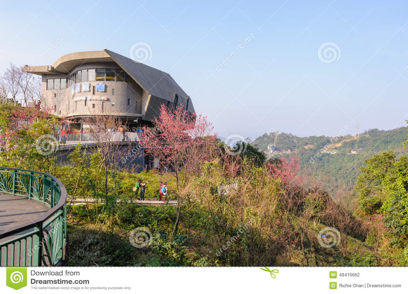 Maokong Gondola Station In Taipei Stock Photo - Image of