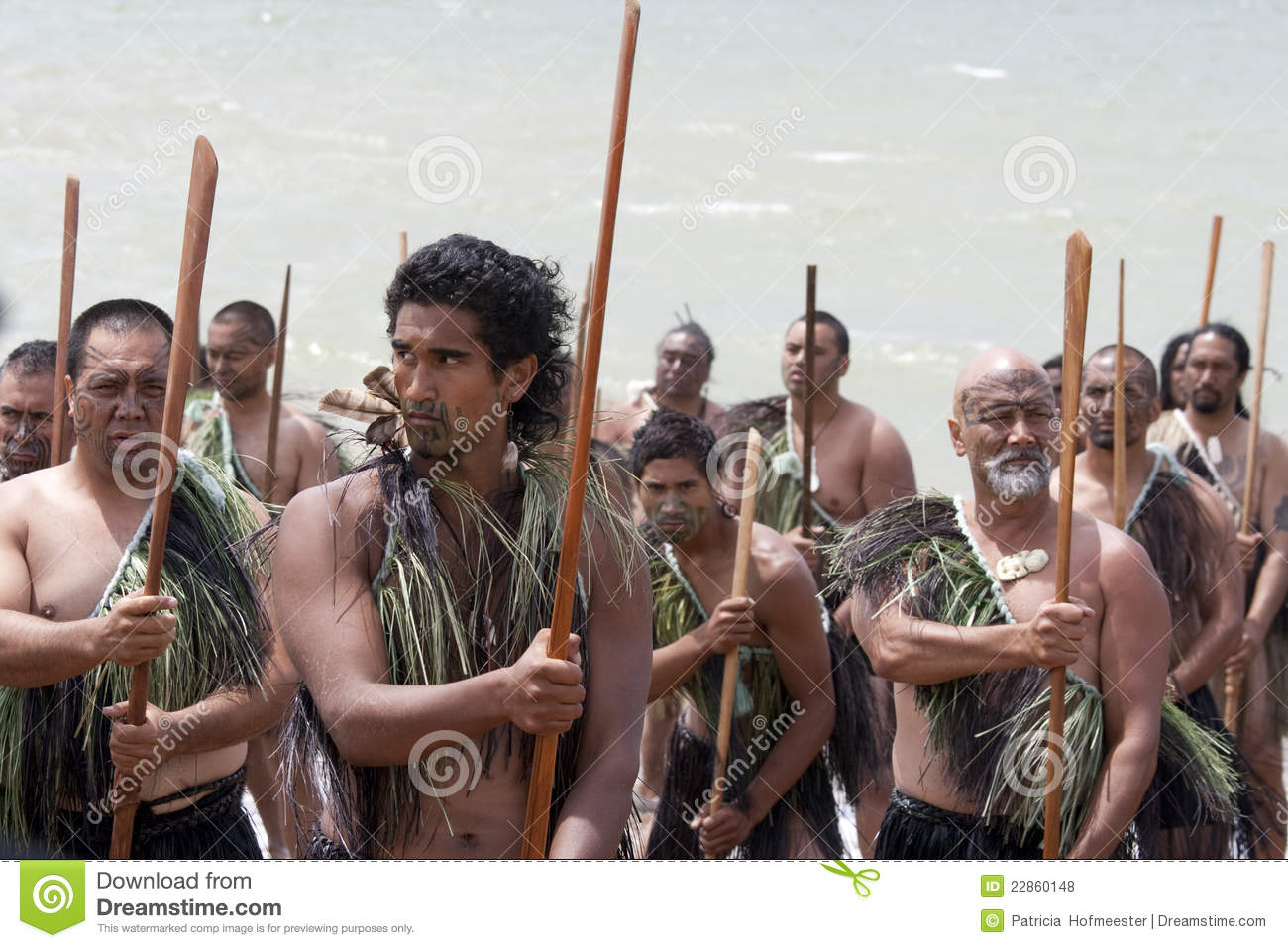 Sophisticated Maori Krieger Collection Of P
