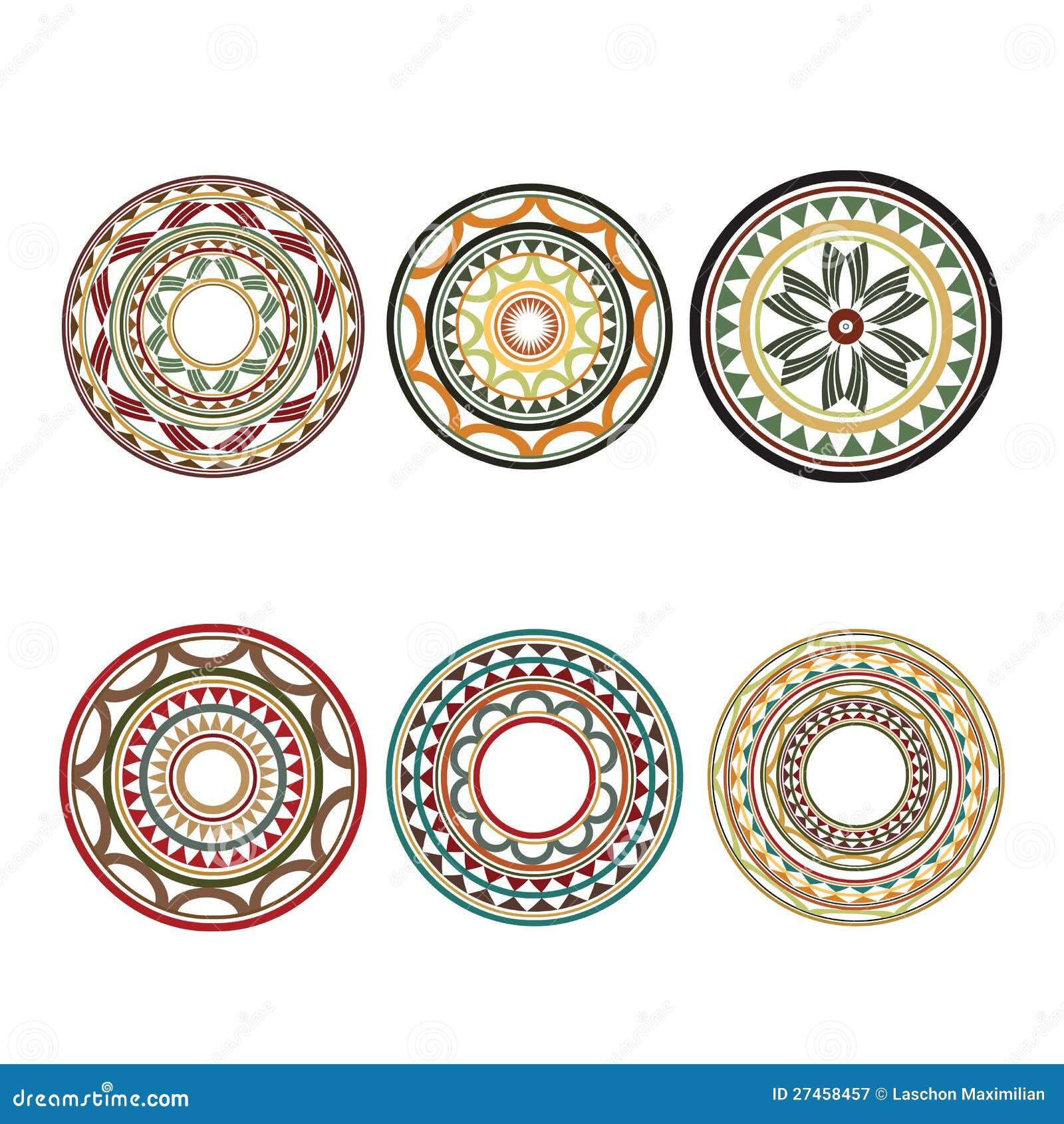 maori polynesian style tattoos designs royalty free stock photography image 27458457. Black Bedroom Furniture Sets. Home Design Ideas