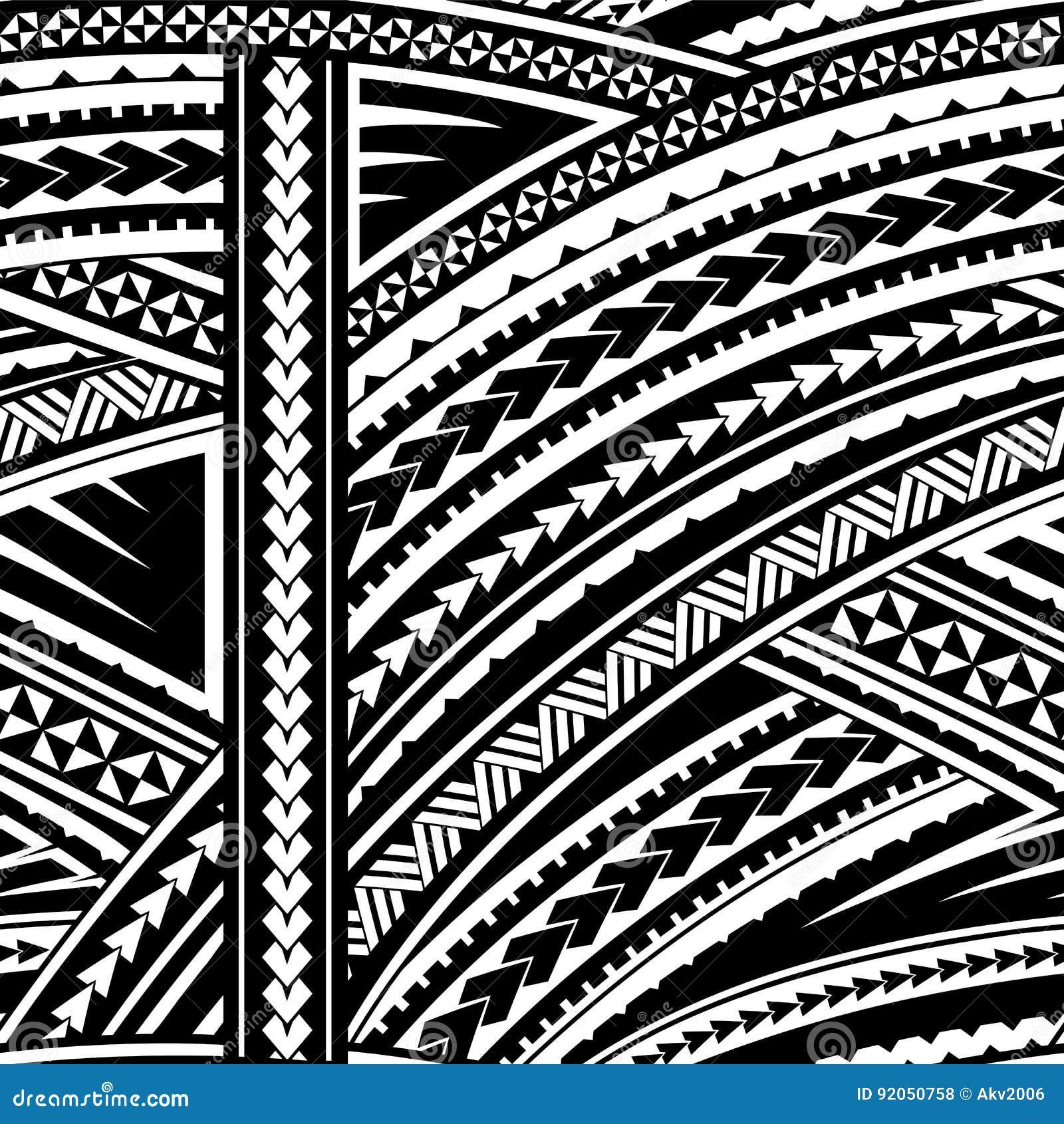 e3b9990945249 Maori style ornament stock vector. Illustration of ornamental - 92050758