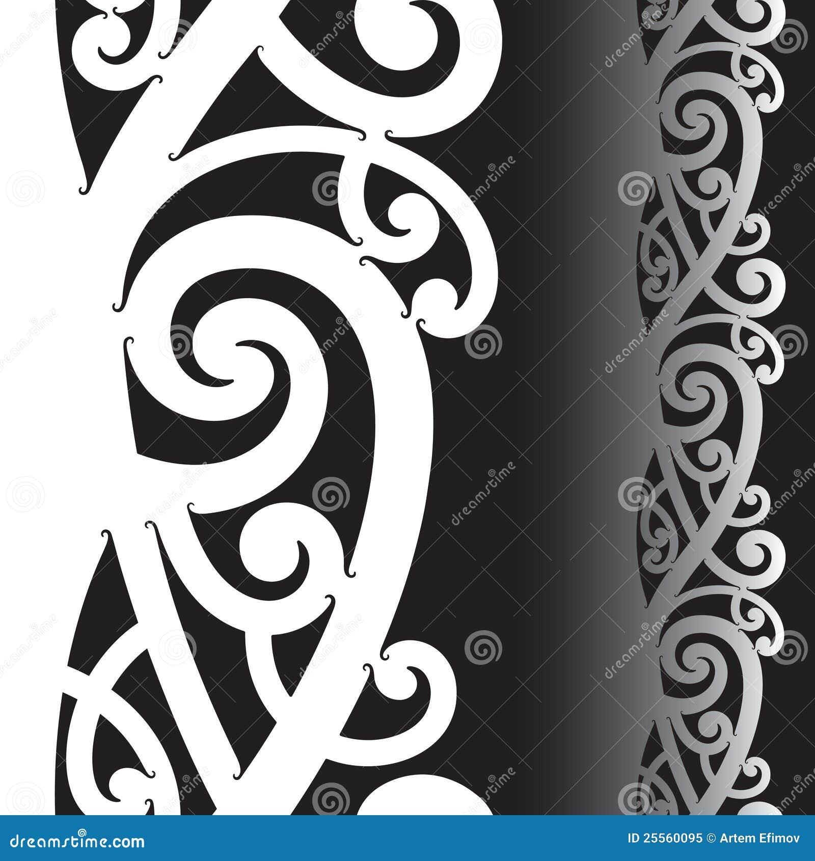 Maori Tattoo Design Stock Photos: Maori Tattoo Pattern Stock Vector. Illustration Of Sign