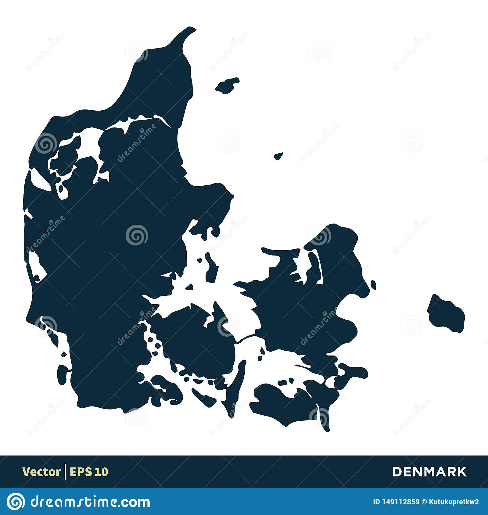 Picture of: Denmark Europe Countries Map Vector Icon Template Illustration Design Vector Eps 10 Stock Vector Illustration Of Country Global 149112859