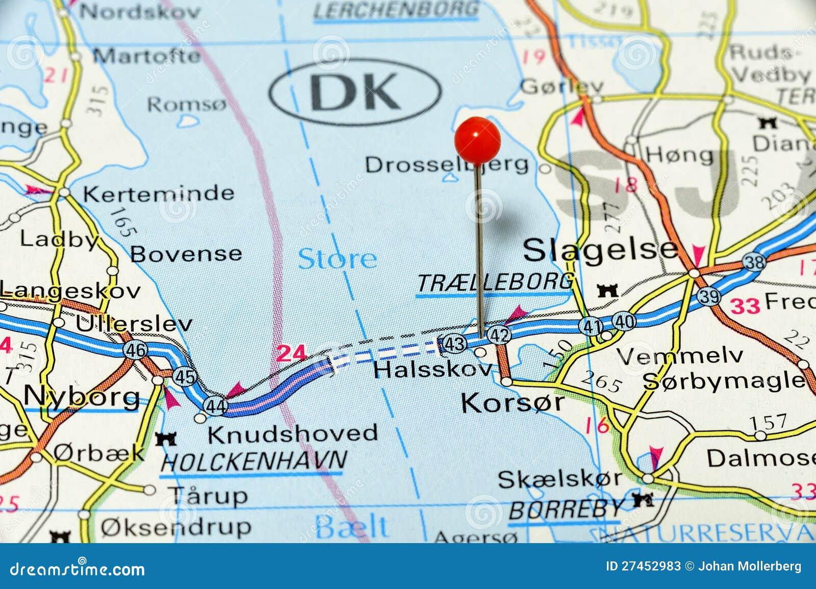 Map stock illustration  Illustration of denmark, great - 27452983