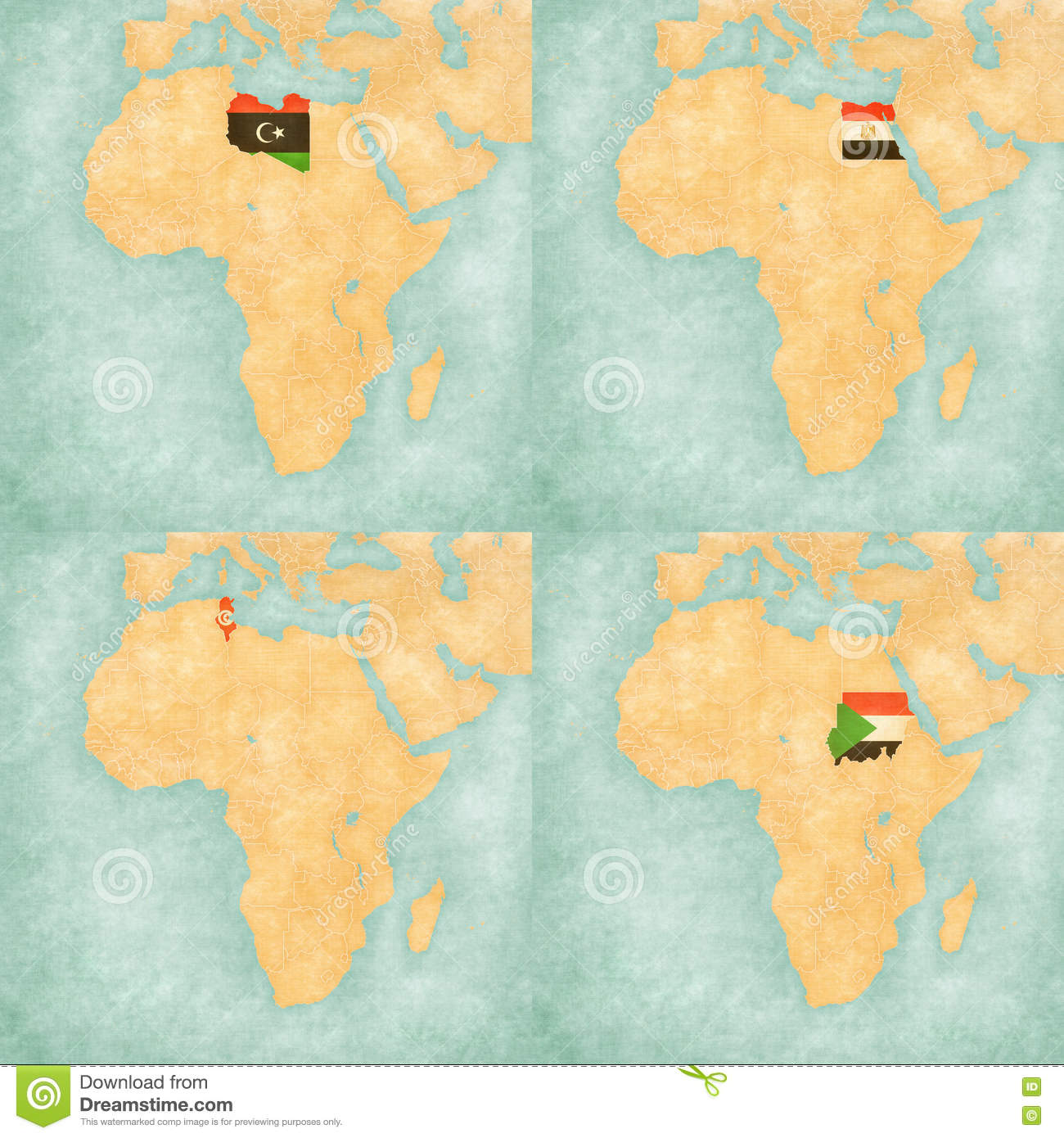 Map of africa libya egypt tunisia and sudan stock illustration download map of africa libya egypt tunisia and sudan stock illustration illustration gumiabroncs Image collections