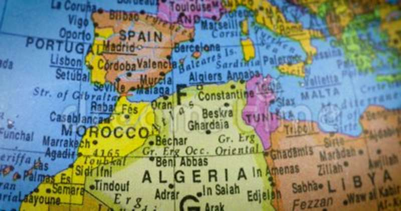 Map of algeria country on the globe stock footage video of atlas map of algeria country on the globe stock footage video of atlas algiers 115627926 publicscrutiny Choice Image