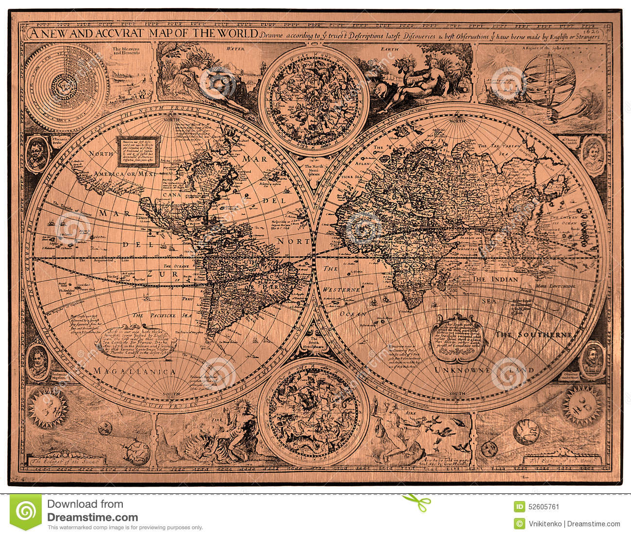 Map of ancient world stock image image of atlas historic 52605761 map of ancient world gumiabroncs Gallery