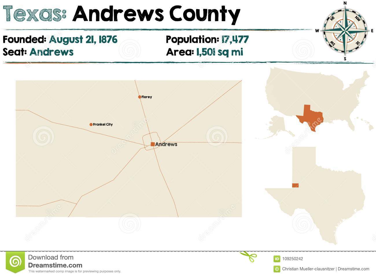 Andrews Stock Illustrations – 43 Andrews Stock ... Andrews County