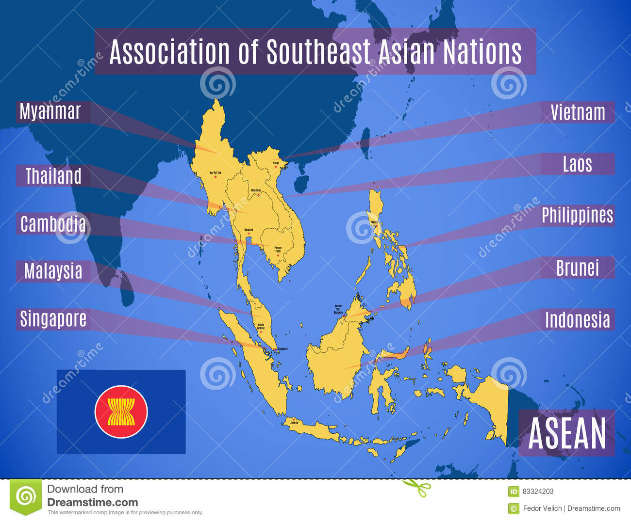 Association of southeast asian nations members think