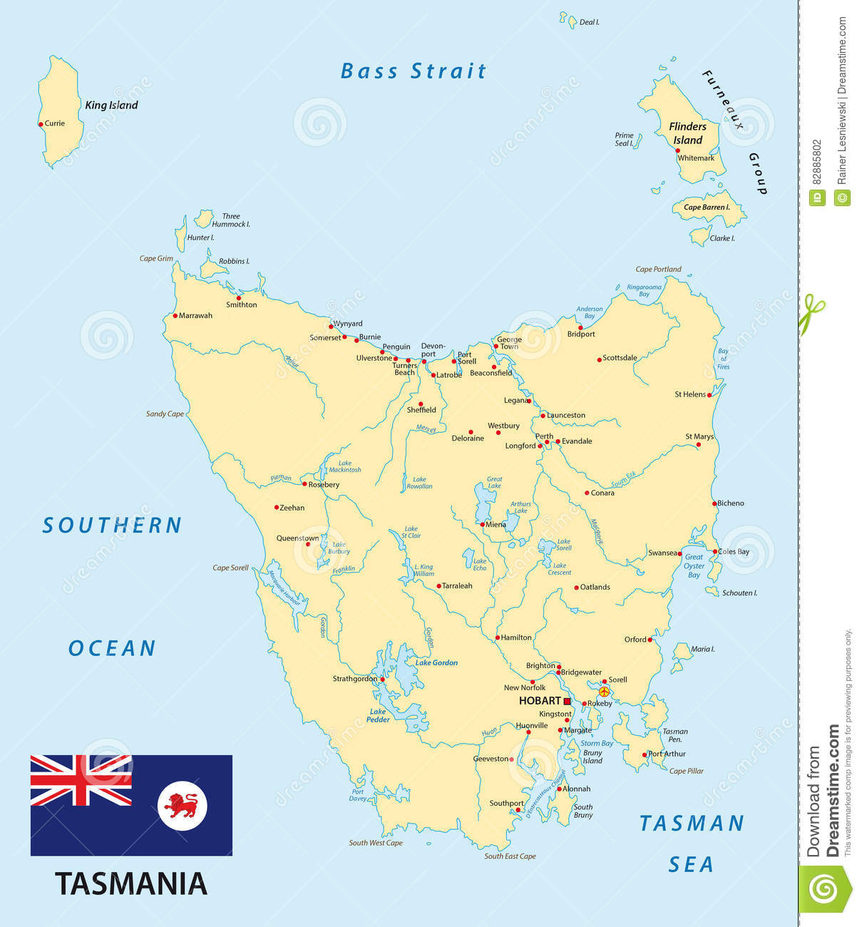 clipart map of tasmania - photo #25