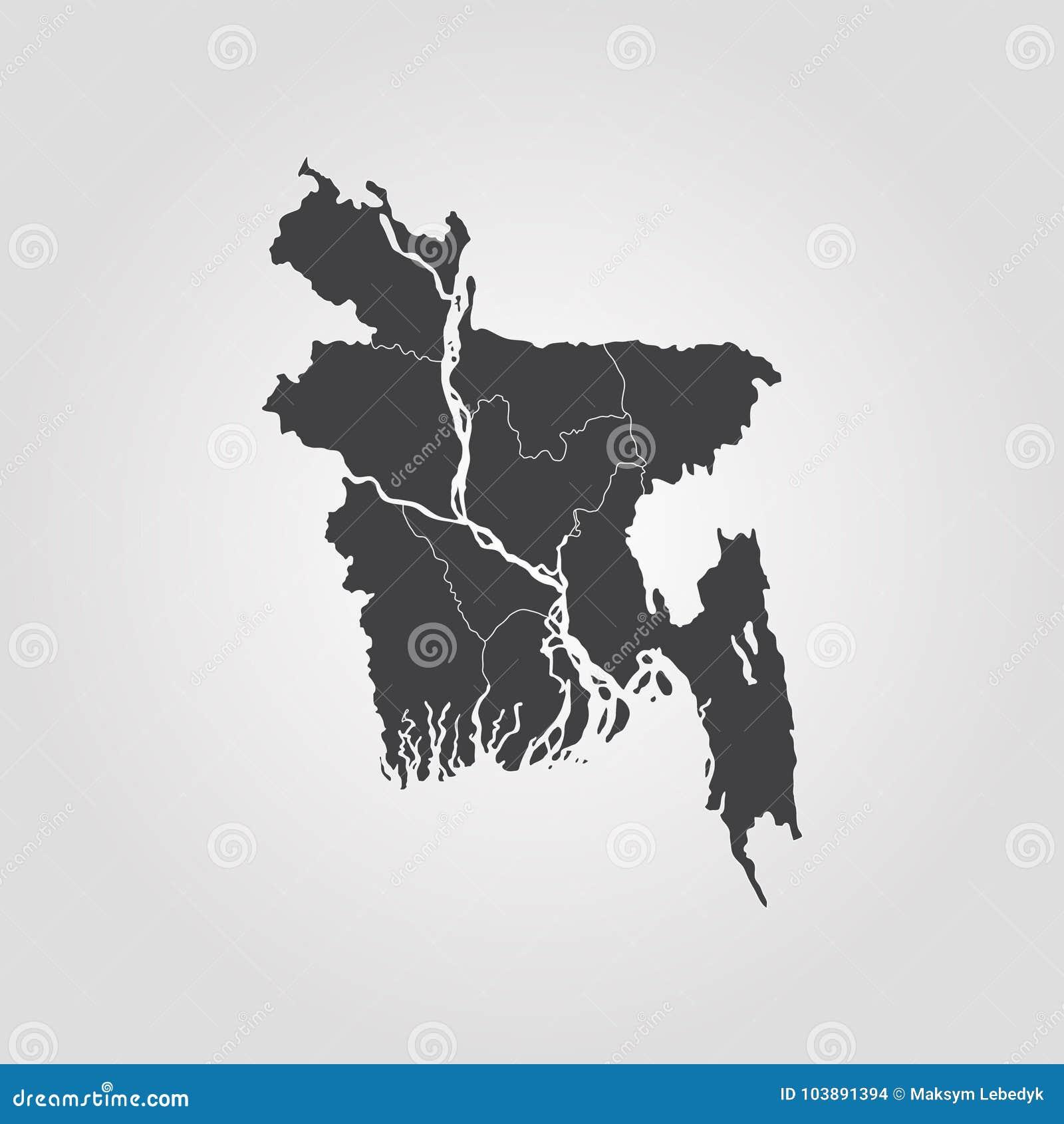 Map of bangladesh stock illustration illustration of dhaka 103891394 map of bangladesh vector illustration world map gumiabroncs Choice Image