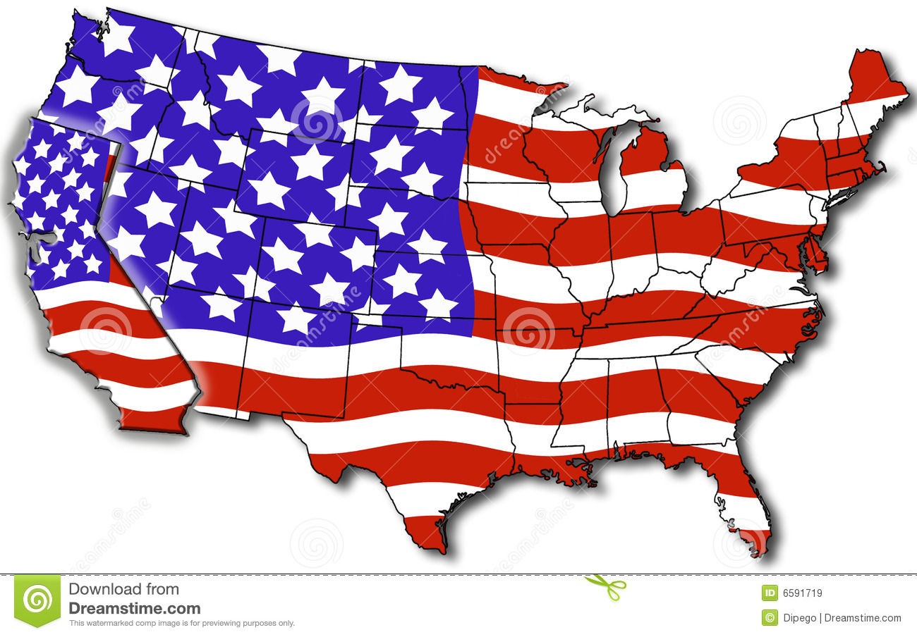 Map Of California USA Royalty Free Stock Images Image - California usa map