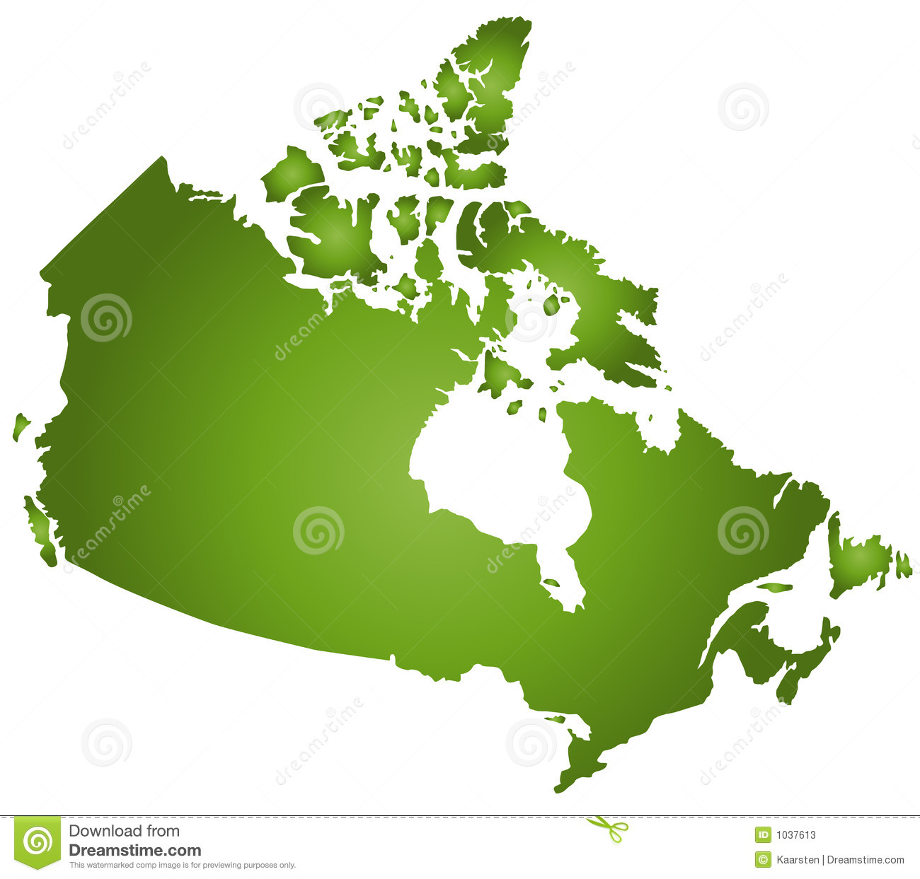 Simple Map Of Canada.Map Canada Stock Vector Illustration Of Orient Position 1037613