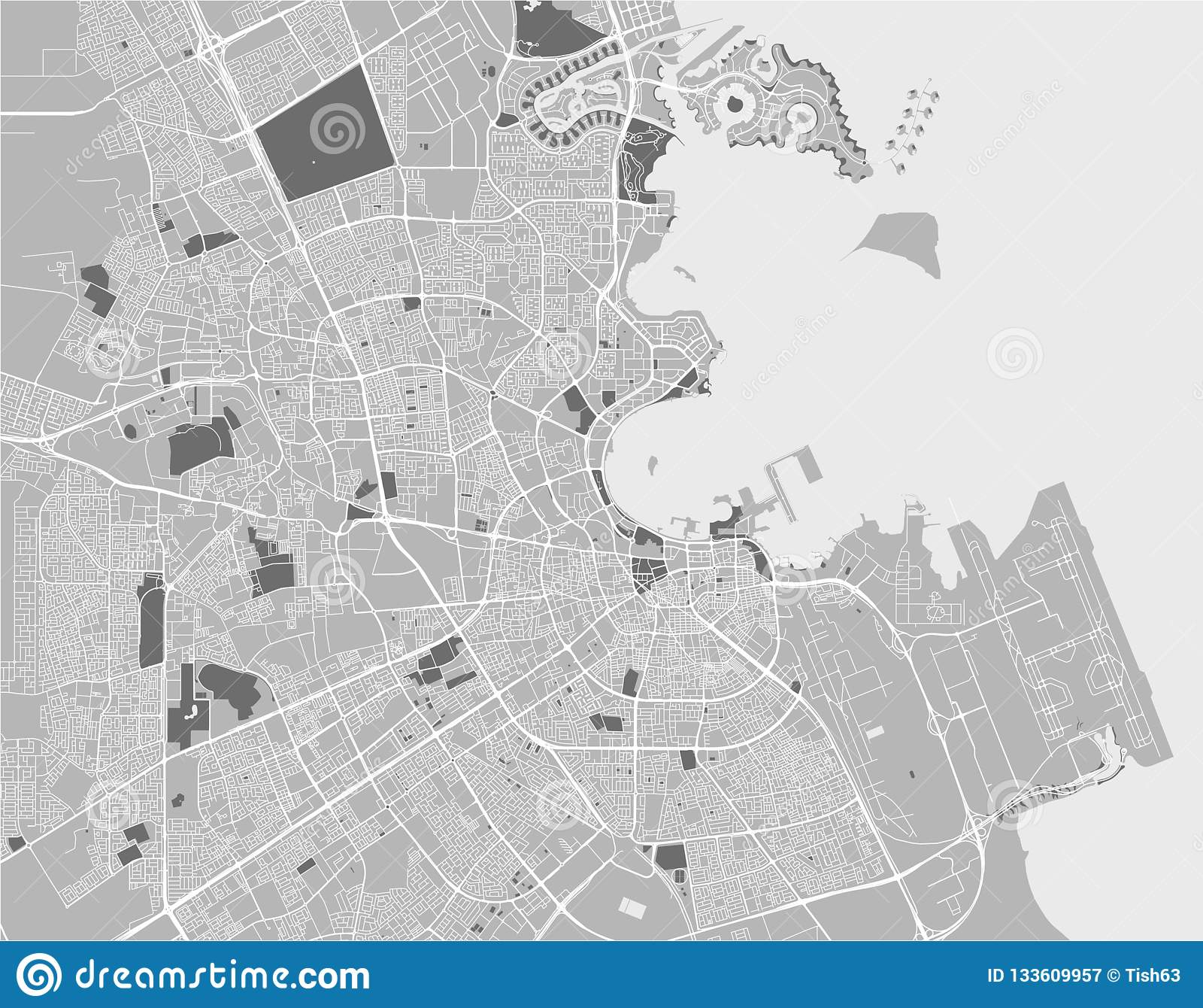 Map Of The City Of Doha, Qatar Stock Illustration ... Doha Map on tanzania map, united arab emirates map, al udeid air base, middle east map, dead sea map, bahrain map, doha corniche, qatar airways, dushanbe map, qatar map, riyadh map, sana'a map, al jazeera, ankara map, kuwait map, abu dhabi, education city, world map, abu dhabi map, manama map, dubai map, mosul map, medina map, kuwait city, doha international airport, damascus map, jerusalem map, souq waqif, baghdad map, aspire tower,