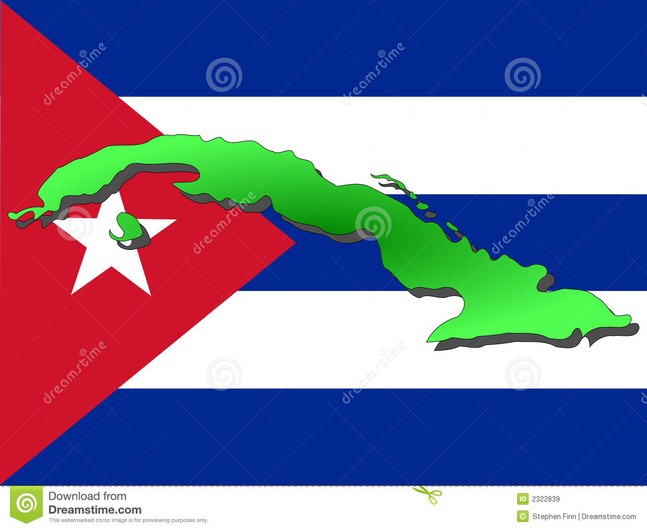 Map Of Cuba Royalty Free Stock Images Image - Map of cuba